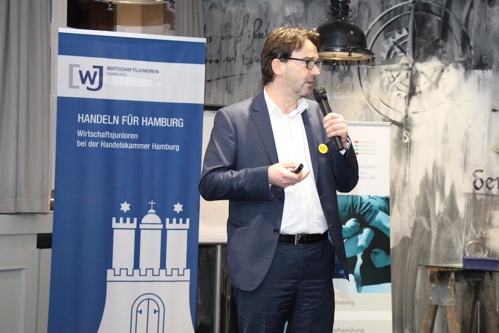 Dr. Nikolaus Förster Gründergeist 2016 Wirtschaftsjunioren Hamburg