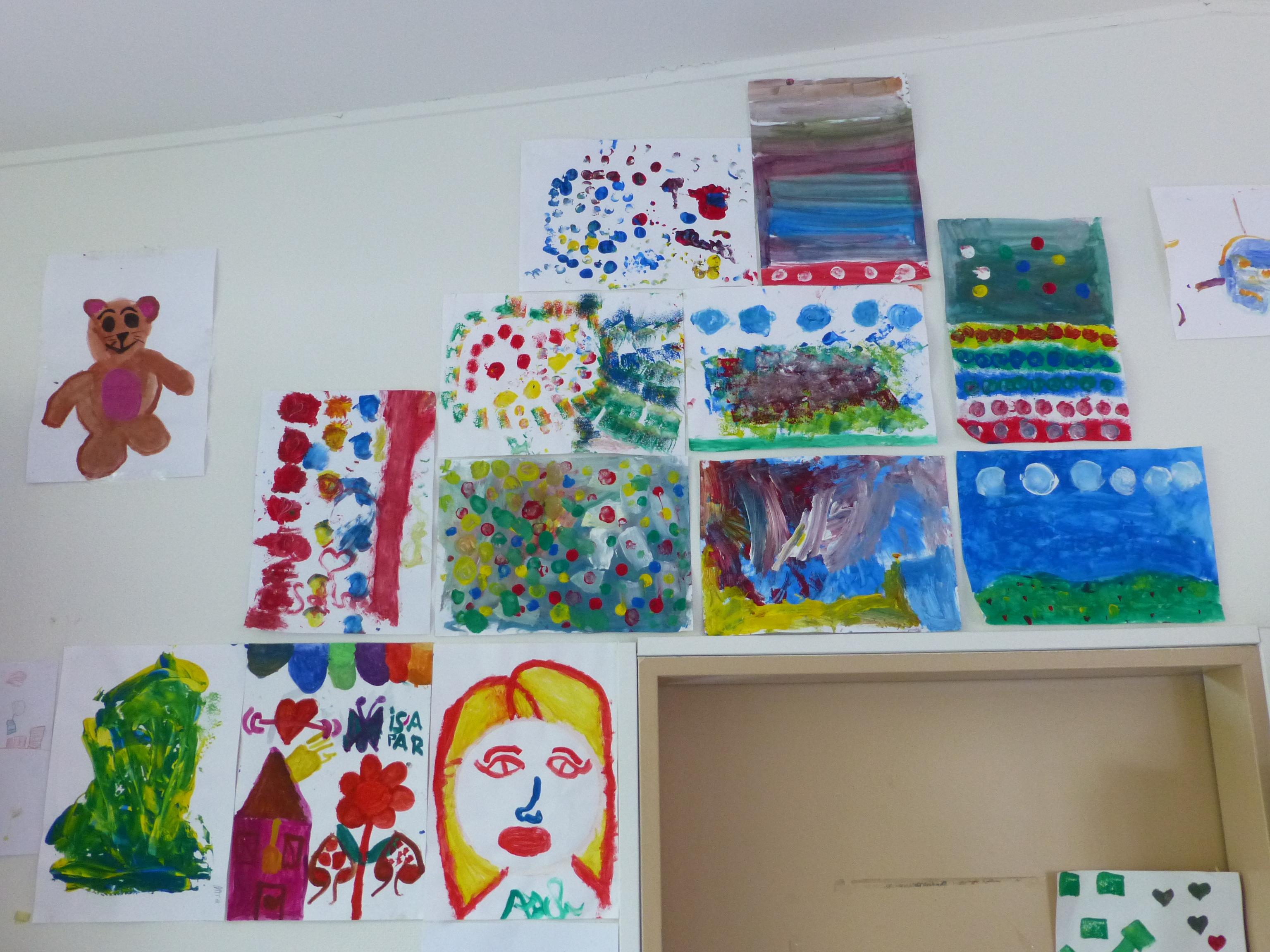 Kunstprojekt für geflüchtete Kinder Wirtschaftsjunioren Hamburg bei der Handelskammer -3