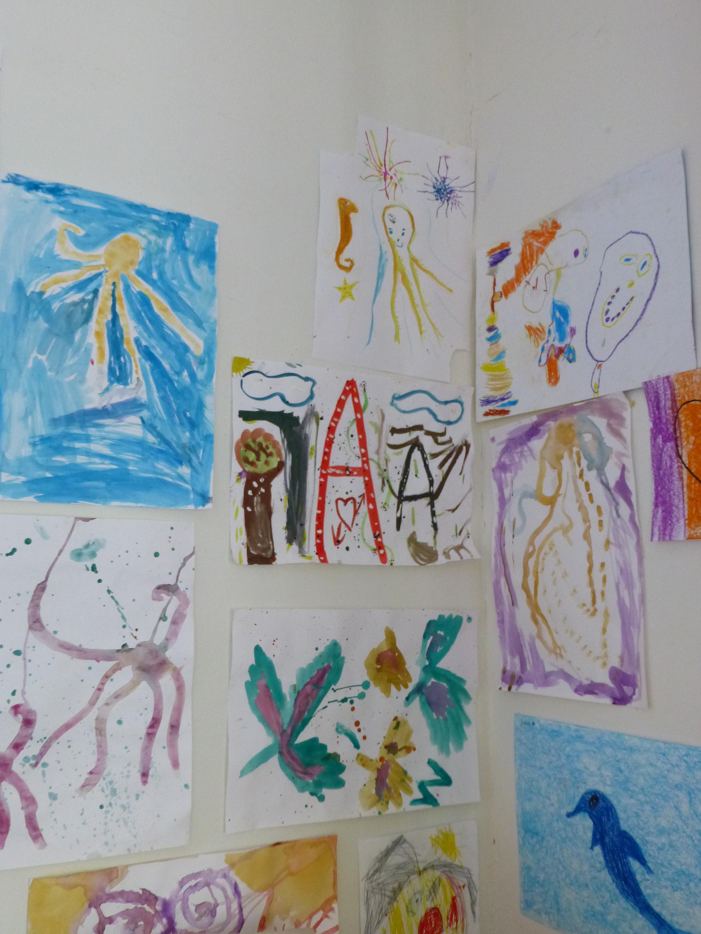 Kunstprojekt für geflüchtete Kinder Wirtschaftsjunioren Hamburg bei der Handelskammer -5
